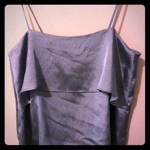 H&M camisole silky blue